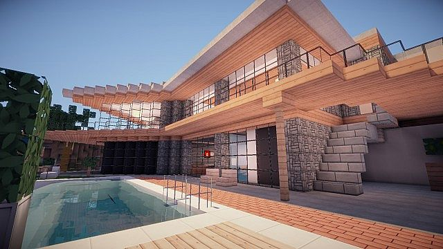 minecraft-gta-5-maison-franklin-exterieur-piscine