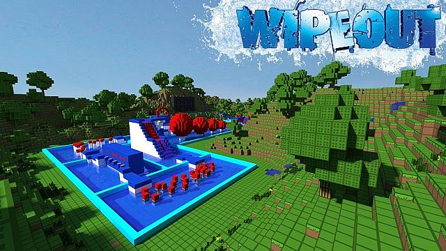 comment construire total wipeout minecraft