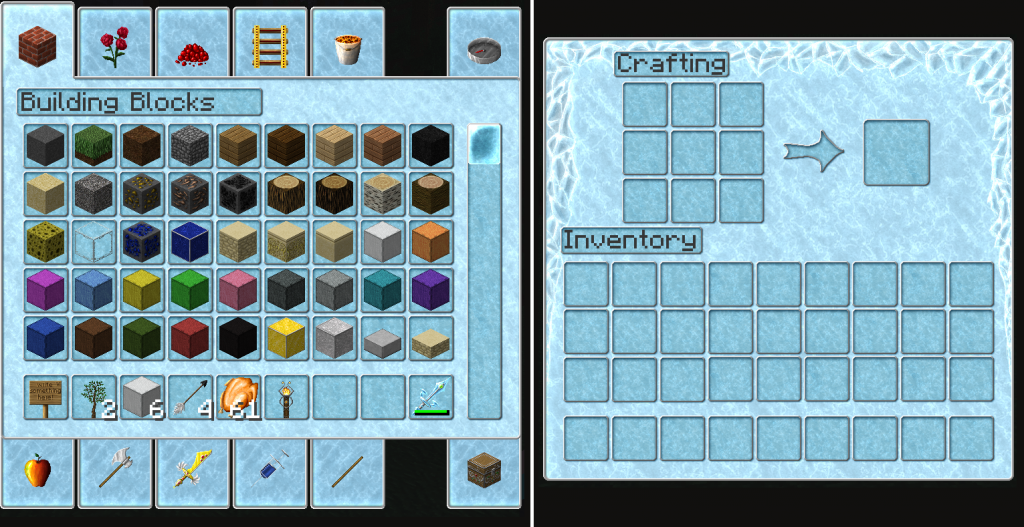 minecraft-resource-pack-diamond-heart-inventaire