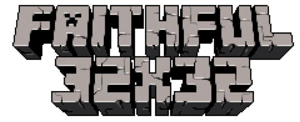minecraft texture pack 32x32 1.9 faithful