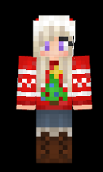 9.minecraft-skin-christmas-girl