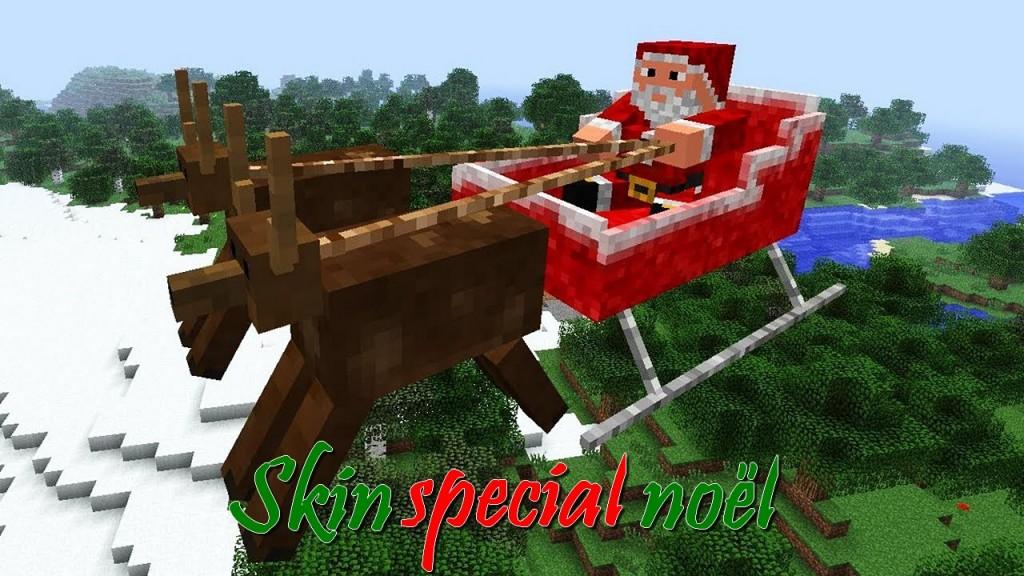Skin Minecraft Spécial Noël Minecraft Aventurecom