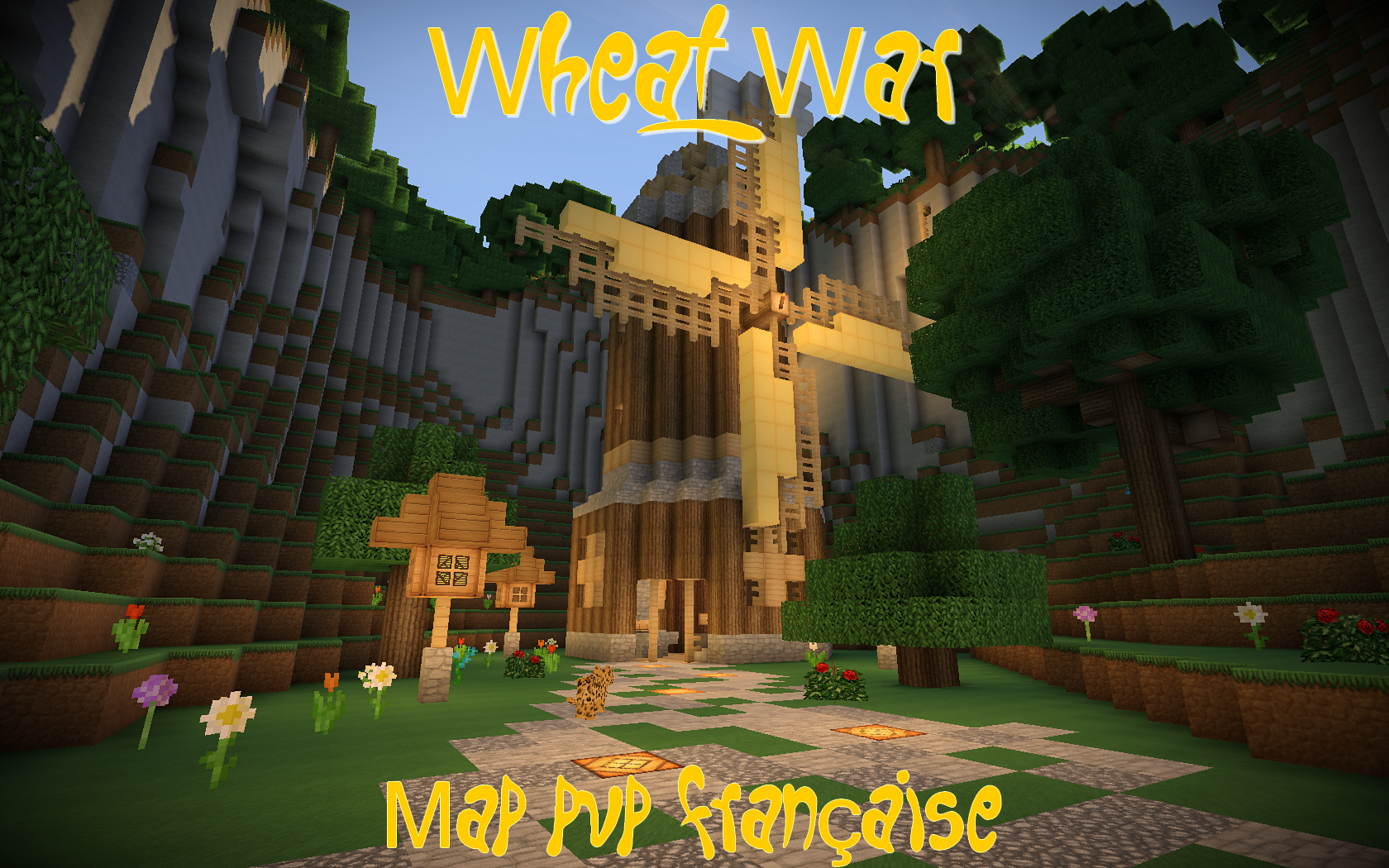 minecraft-map-pvp-wheat-war