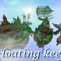 minecraft-map-ville-flotante-floating-keep