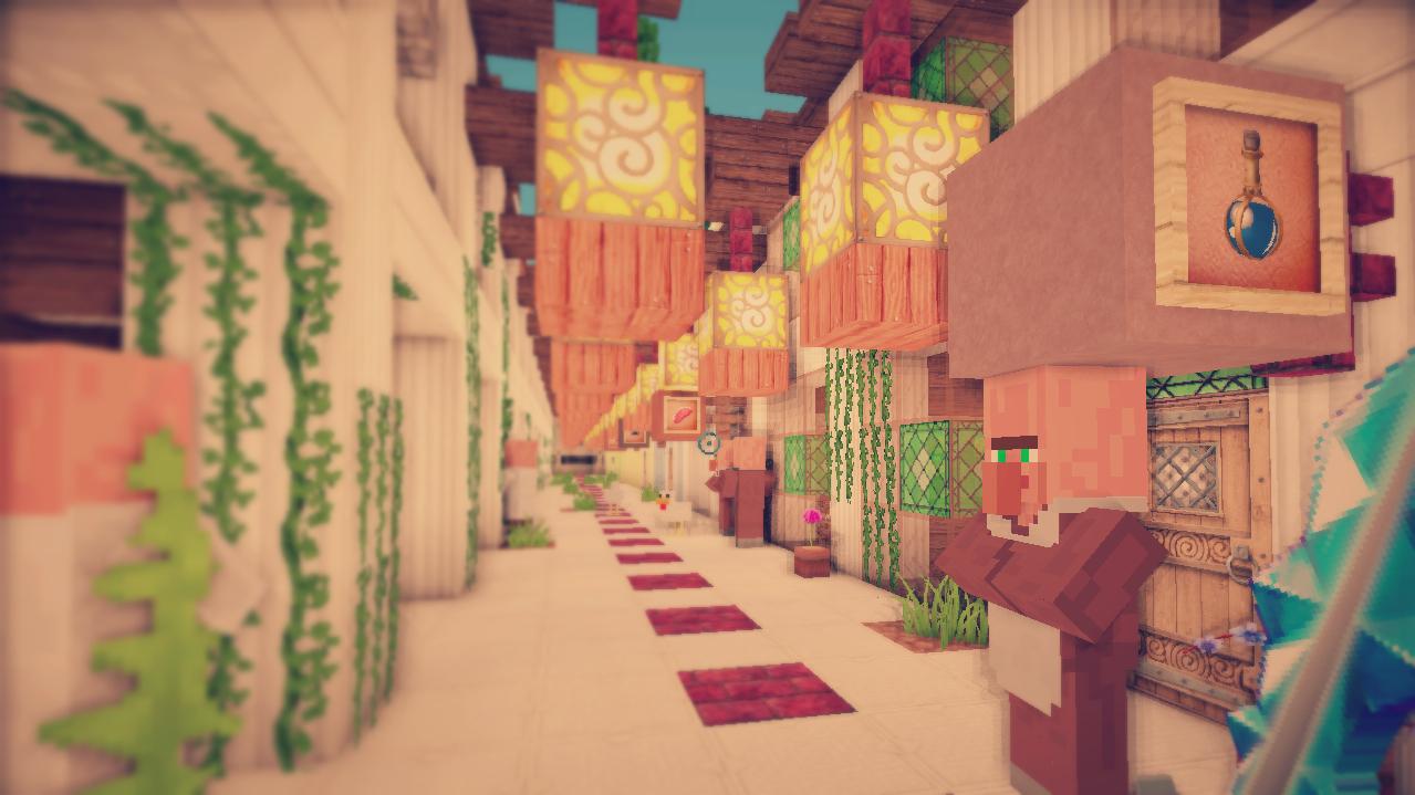 minecraft-map-aventure-teramia-village
