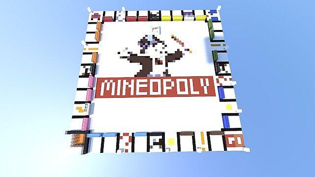 minecraft-map-jeux-mineopoly-plateau
