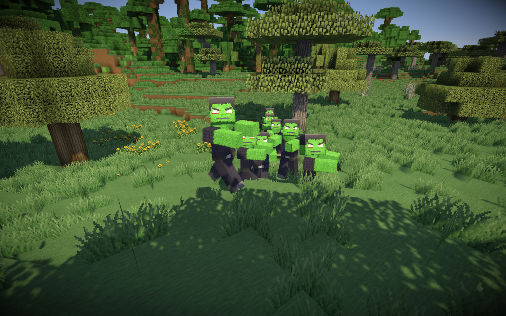 minecraft-mod-cracked-zombie-jour