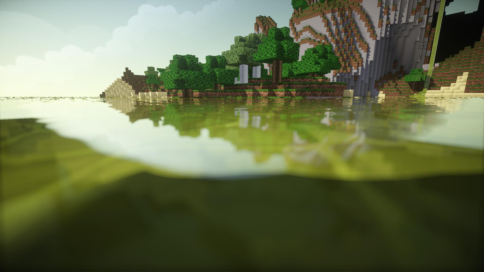 fond-d-écran-minecraft-paysage
