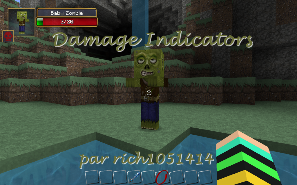 minecraft-mod-Damage Indicators