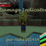 minecraft-mod-Damage Indicators
