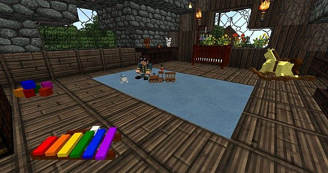 Belle chambre minecraft ~ Image Sur le Design Maison