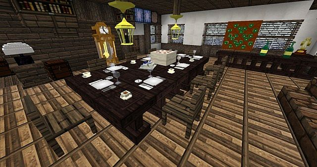 Mod decocraft 1 minecraft for Salle a manger minecraft