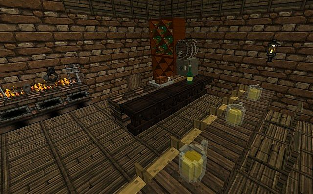 dco chambre minecraft mod decocraft minecraft aventure - Chambre Moderne Minecraft