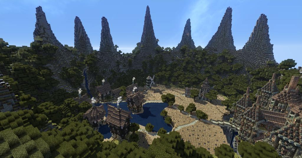 minecraft-aventure-map-pvp-herobrine-invocation-village