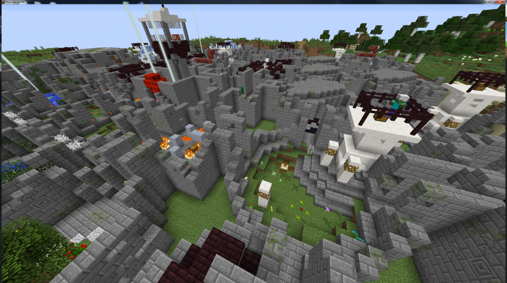 Minecraft-map-aventure-solo-multijoueur-infinity-dungeon-donjon