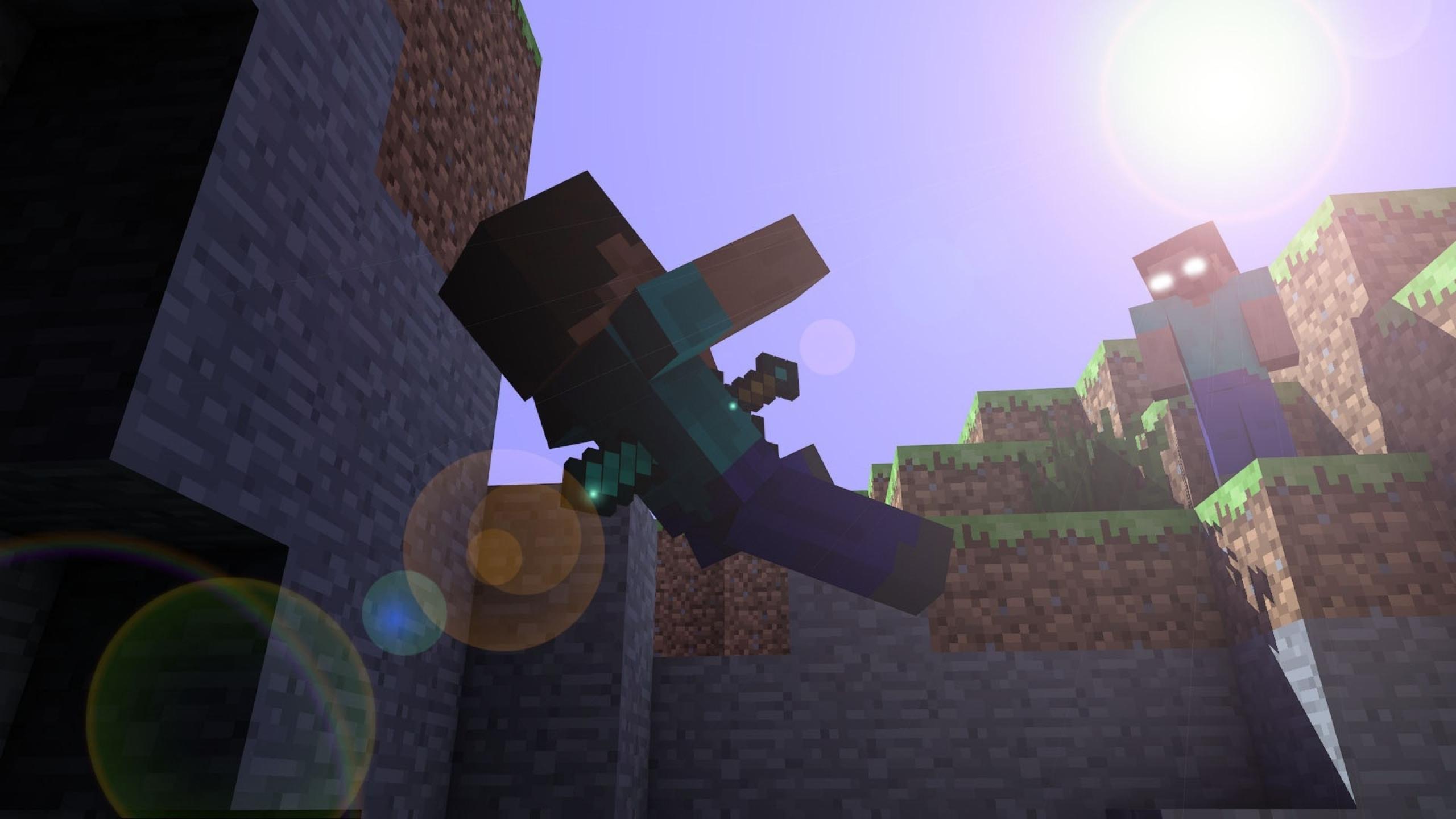 fond-ecran-minecraft-herobrine