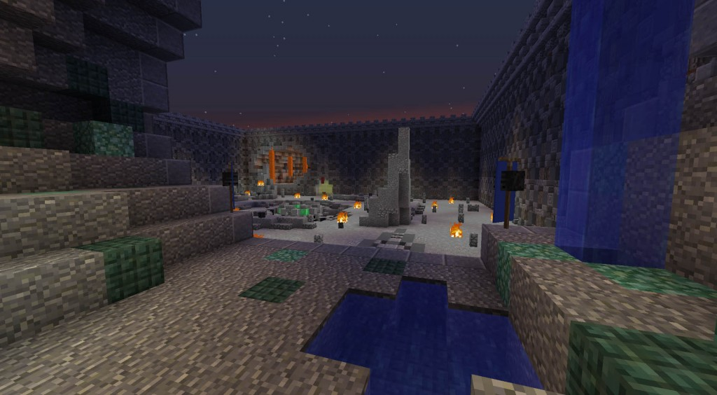 minecraft-map-pvp-DeathOrb-spawn-equipe-bleu