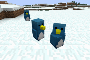 minecraft-mod-mob-animals+-Penguins