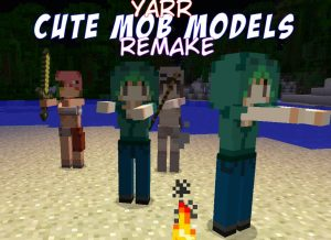 minecraft-mod-cute-mob-models-remake