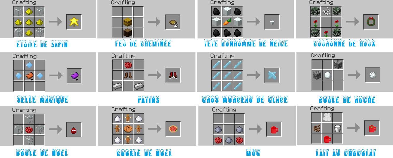 Mod wintercraft 1 minecraft - Comment faire une laisse dans minecraft ...