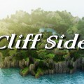 minecraft map customise cliff side