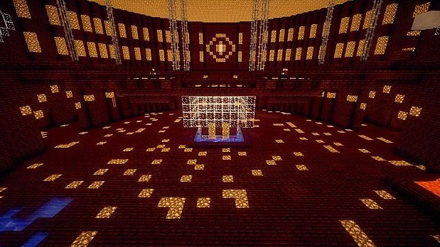 minecraft-map-pvp-arene spawn