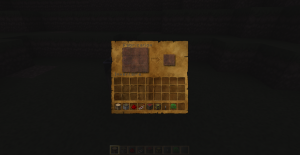 l'interface de craft