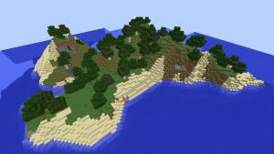Seed minecraft 1 île 1