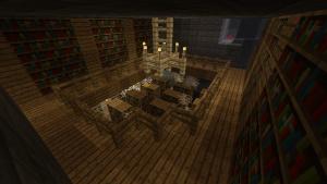 seed minecraft 1 bibliothèque