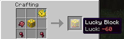 minecraft mod lucky block malchance