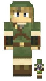 5.Minecraft skin link skyward sword