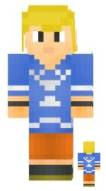 7.Minecraft skin link wind water