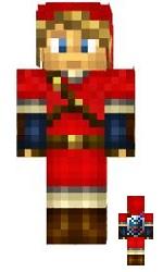 8.Minecraft skin link rouge