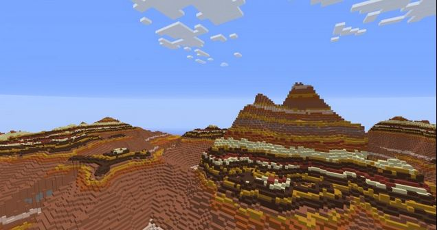 minecraft map customisé unbroken montagne aride
