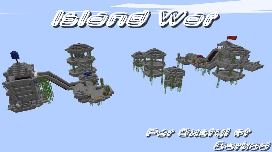 minecraft map pvp island war