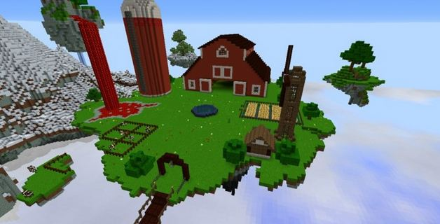 minecraft map survival game Caelum Mundi II ferme