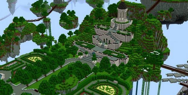 minecraft map survival game Caelum Mundi II temple