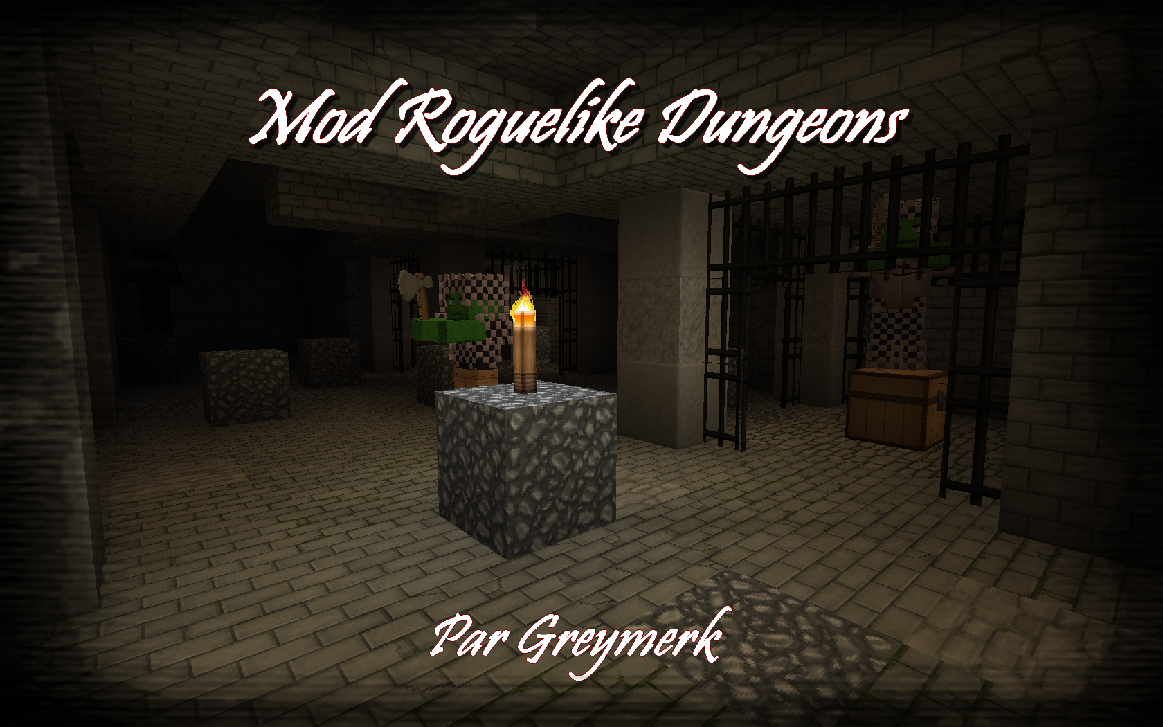 minecraft mod mob roguelike dungeons