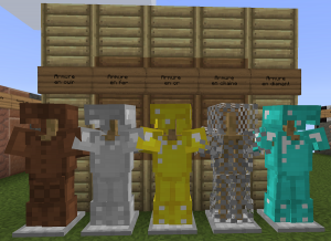 minecraft equanimity pvp resource pack armure