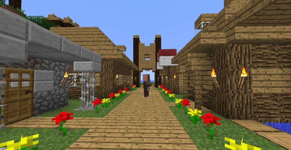 minecraft map aventure survie fr l'ile perdu village