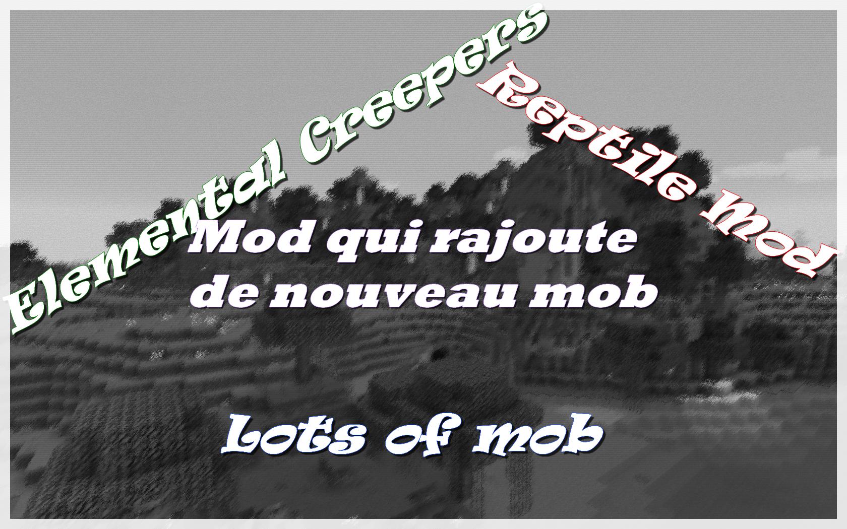 minecraft mod qui rajoute de mob