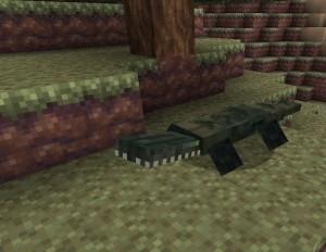 minecraft mod reptile crocodile