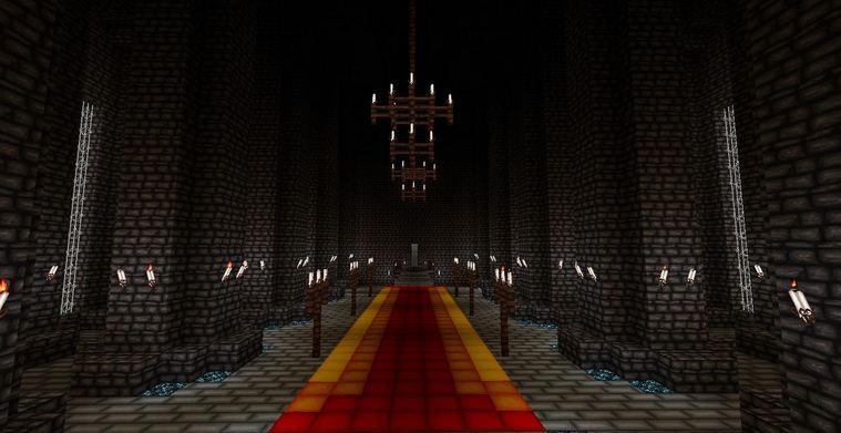 minecraft resource pack 64x64 wolfhound pack salle du trone