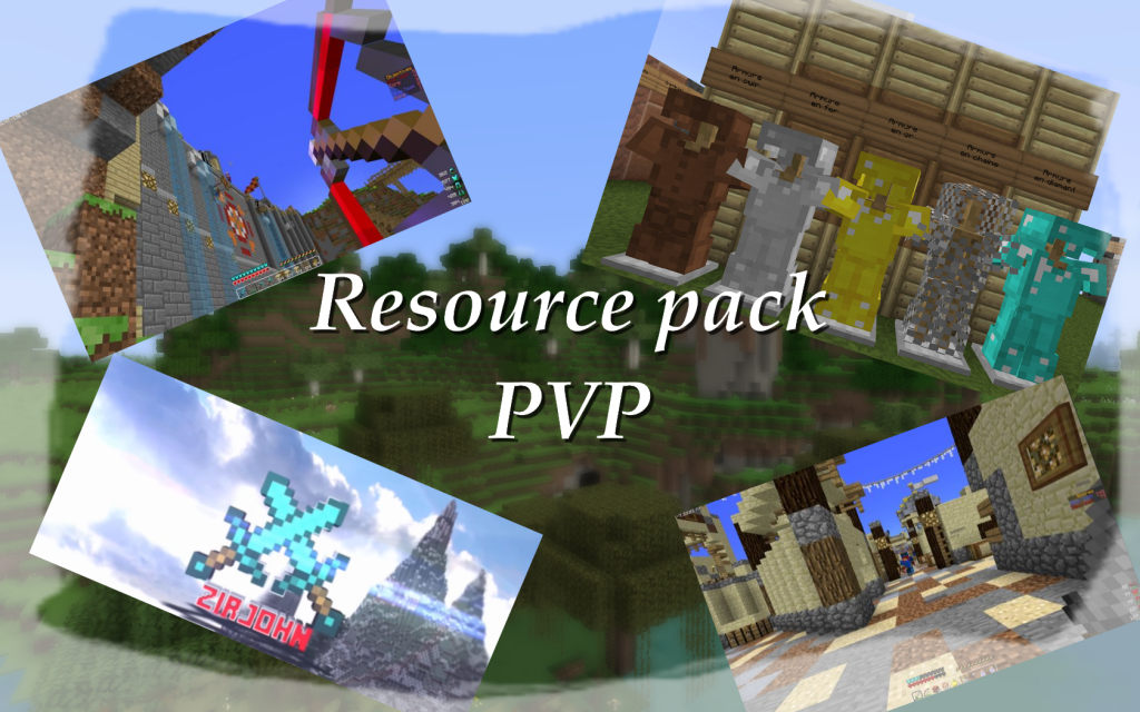 minecraft resource pack pvp