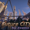 minecraft map ville future city