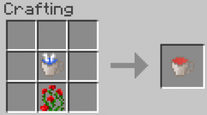 minecraft mod flower tea craft thé à la rose