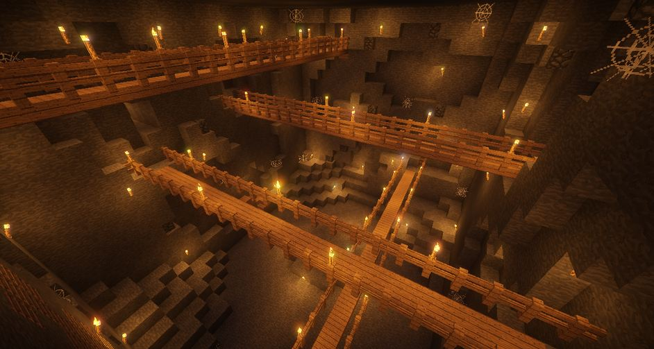 minecraft map aventure village escape passage secret