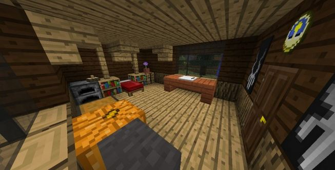 minecraft map horreur 1.8 lucid nightmare chambre