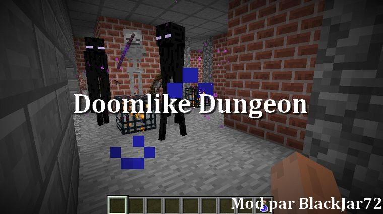 minecraft mod doomlike dungeon