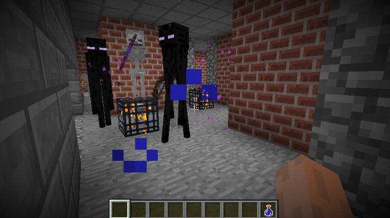 minecraft mod doomlike dungeons enderman